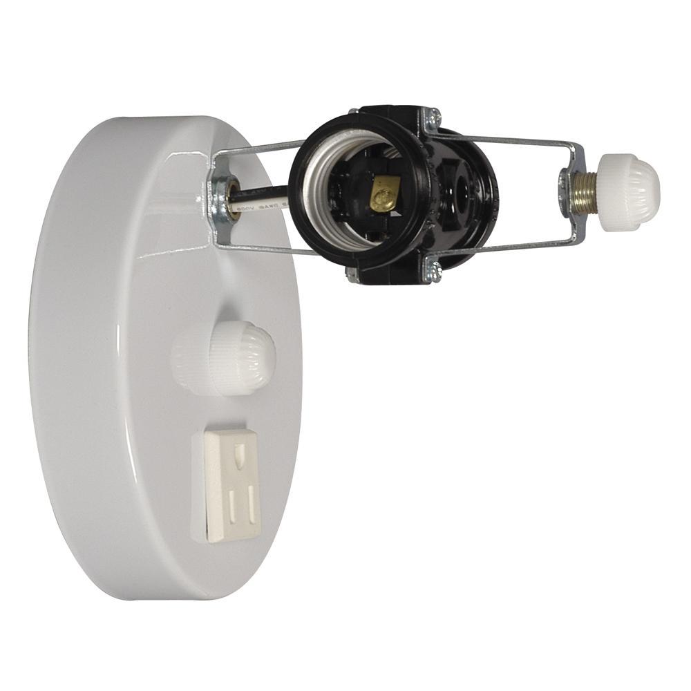 Vanity Light Holder - White : 22411-H Design Lighting