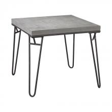 Sterling Industries 351-10240 - Montparnasse Accent Table In Aged Iron And Concrete