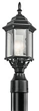 Kichler 49256BK - Outdoor Post Mt 1Lt