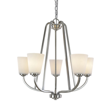 Artcraft AC10465BN - Hudson 5 Light  Brushed Nickel Chandelier