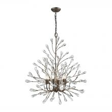 ELK Lighting 18243/6 - Crislett 6 Light Chandelier In Sunglow Bronze Wi