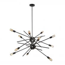 ELK Lighting 66915/12 - Xenia 12 Light Chandelier In Oil Rubbed Bronze
